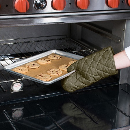 Putting Cookies In The Oven